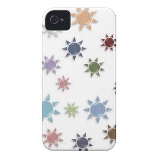 SUN PATTERN IPHONE4 CASE iPhone 4 CASE