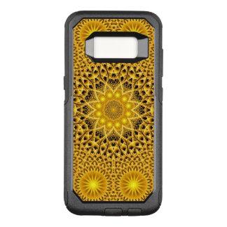 Sun Pattern Mandala OtterBox Commuter Samsung Galaxy S8 Case