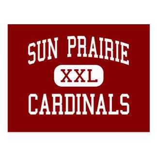 Sun Prairie - Cardinals - High - Sun Prairie Postcard