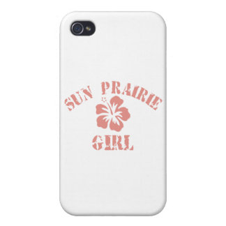Sun Prairie Pink Girl iPhone 4/4S Cases