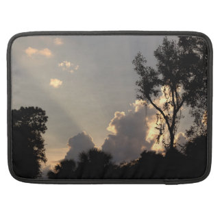 Sun Rays at Sunset MacBook Pro Sleeve