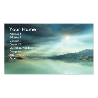 Sun Rays Pack Of Standard Business Cards