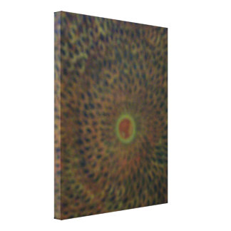 Sun Rays Stretched Canvas Print
