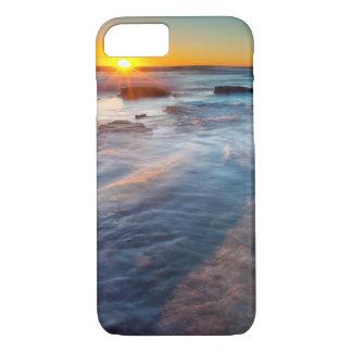 Sun rays illuminate the Pacific Ocean iPhone 7 Case