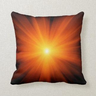 Sun rays pillow