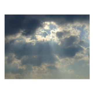 Sun Rays Postcard