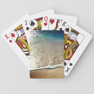 Sun Reflection Playing Cards