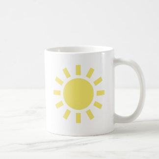 Sun: Retro weather symbol Coffee Mug