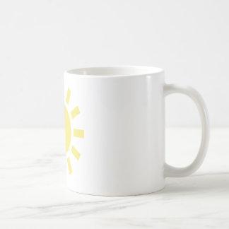 Sun: Retro weather symbol Mugs