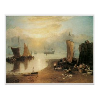 Sun rising through vapour, J. M. W. Turner Poster