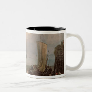 Sun Rising Through Vapour Two-Tone Coffee Mug