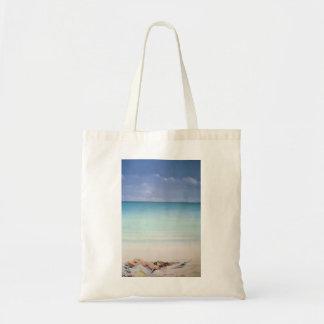 Sun Sand and Money I Tote Bag