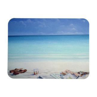 Sun Sand and Money II Rectangular Photo Magnet