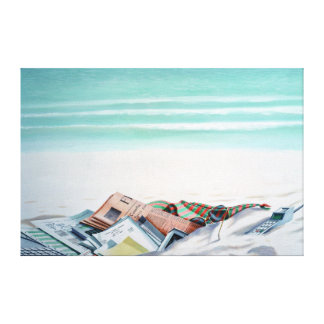 Sun Sand and Money III Canvas Print