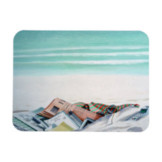 Sun Sand and Money III Rectangular Photo Magnet