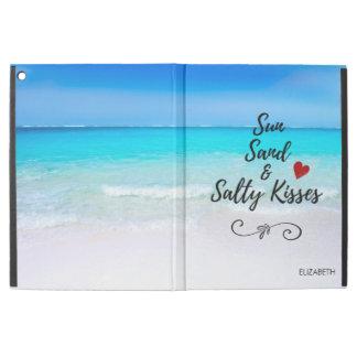 """Sun Sand and Salty Kisses Tropical Beach iPad Pro 12.9"""" Case"""
