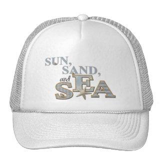 Sun Sand and Sea Hat