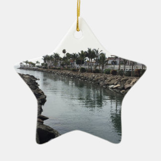 Sun Sea Christmas Ornament