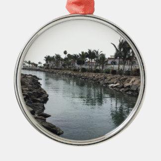 Sun Sea Christmas Ornament