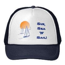 Sun, Sea 'N' Sail Coastal Yachts Cap