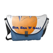 Sun, Sea 'N' Sail Coastal Yachts Commuter Bag