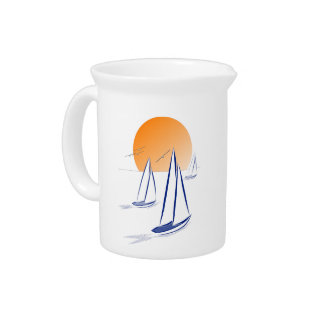 Sun, Sea 'N' Sail! Coastal Yachts Pitcher