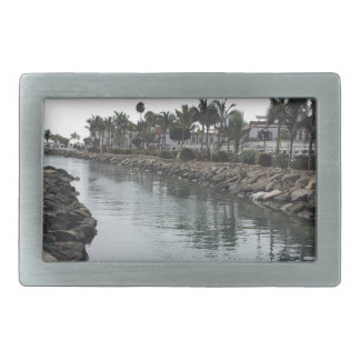 Sun Sea Rectangular Belt Buckles