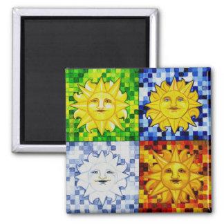 Sun Seasons Magnet