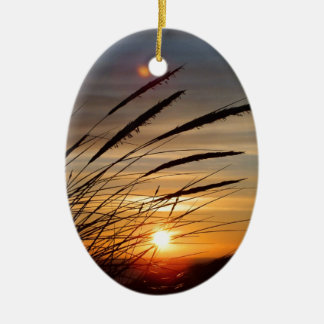 Sun Set Christmas Ornament