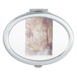 Sun set compact mirror