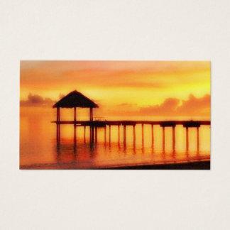 SUN SET ISLAND BUSINESS CARD