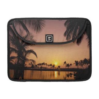 Sun setting on Anaeho'omalu Bay, Big Island, Sleeve For MacBook Pro