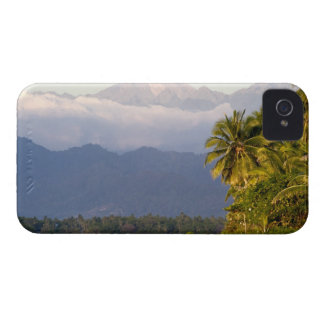 Sun Setting On Volcano With Tropical Beach Case-Mate iPhone 4 Case