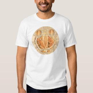 Sun Shine Golden Flames T-shirt