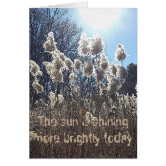 Sun Shining Birthday Card