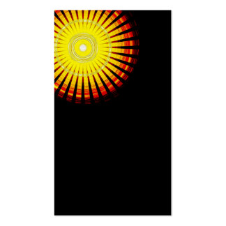 Sun Shining In The Darkness Pack Of Standard Business Cards