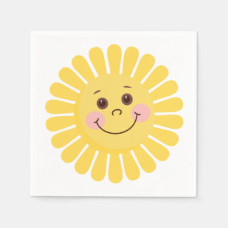 Sun Smile Disposable Napkins