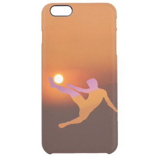 Sun Soccer iPhone 6/6S Plus Clear Case