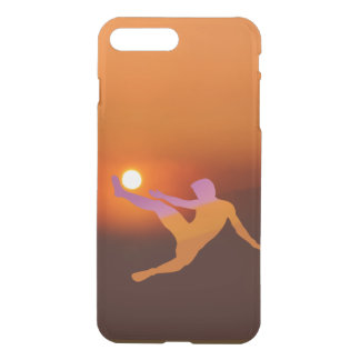 Sun Soccer iPhone X/8/7 Plus Clear Case