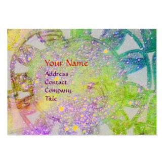 SUN SOLAR ENERGY MONOGRAM blue purple green Business Card Templates