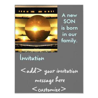 SUN - Source of Vital Energy 11 Cm X 14 Cm Invitation Card