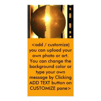 SUN - Source of Vital Energy Custom Photo Card