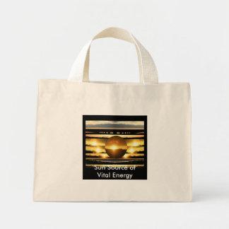 SUN - Source of Vital Energy Mini Tote Bag