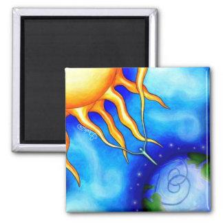 Sun Spirit Earth Magnet