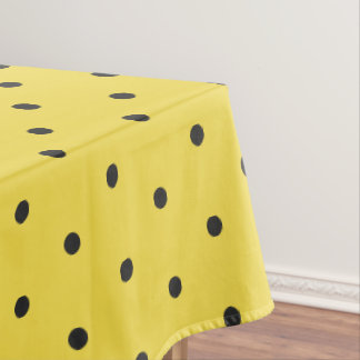 Sun Spot Polka Dot Table Cloth Tablecloth