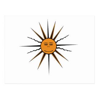 Sun Star Postcard