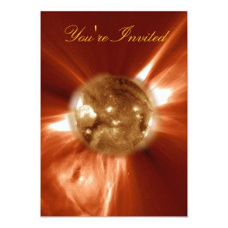 Sun Storm 13 Cm X 18 Cm Invitation Card