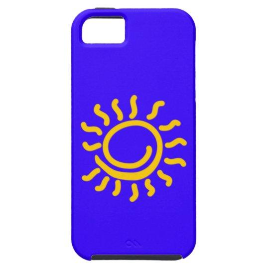Sun sun case for the iPhone 5