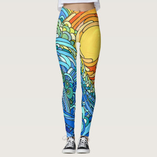 Sun, Sun, Sun, Here it comes! Leggings