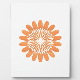 SUN Sunflower Sparkle Orange Round NVN700 gifts fu Photo Plaque